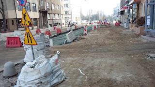 ul. Armii Krajowej, remont, kanalizacja, Gdynia