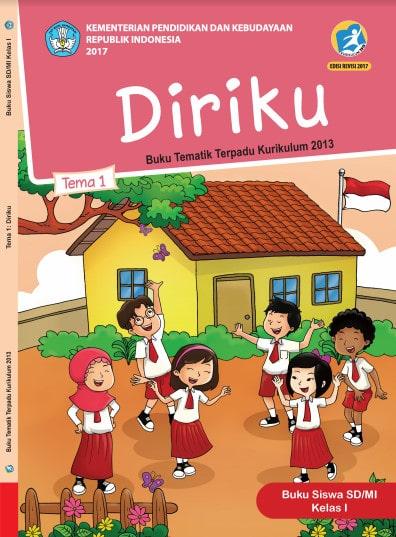 Buku Siswa Tema 1 Kelas 1  Revisi 2017 Kurikulum 2013
