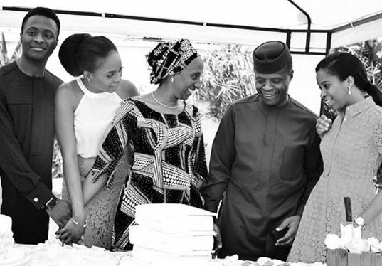 'I Thank God For The Family I Was Born Into' – V.P Osinbajo's Daughter, Kiki Brags On Social Media