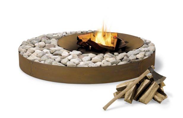 The Zen fire pit