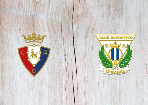 Osasuna vs Leganes -Highlights 27 June 2020