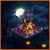 Farmville Spookstown Soiree Farm -Pumpkin Towerette (Centerpiece Buildable)