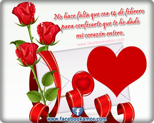Frases De Amor Para San Valentin Con Imagenes Bonitas De: Imagenes De San Valentin Para Facebook