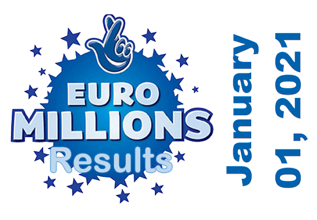 EuroMillions Results for Friday, January 01, 2021