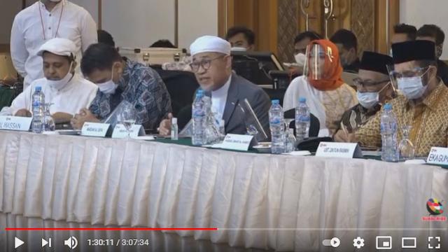 Abah Roudh Ungkap Rencana Pertemuan Wapres dengan HR5 Batal karena Ada yang 'Menelpon'