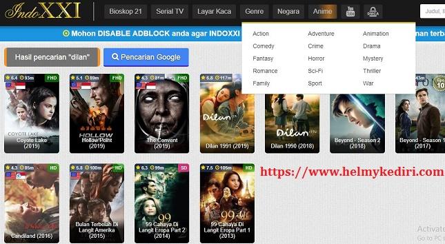 Cara Download Film Disitus Indoxxi Menggunakan Pc Android Blog Orang It