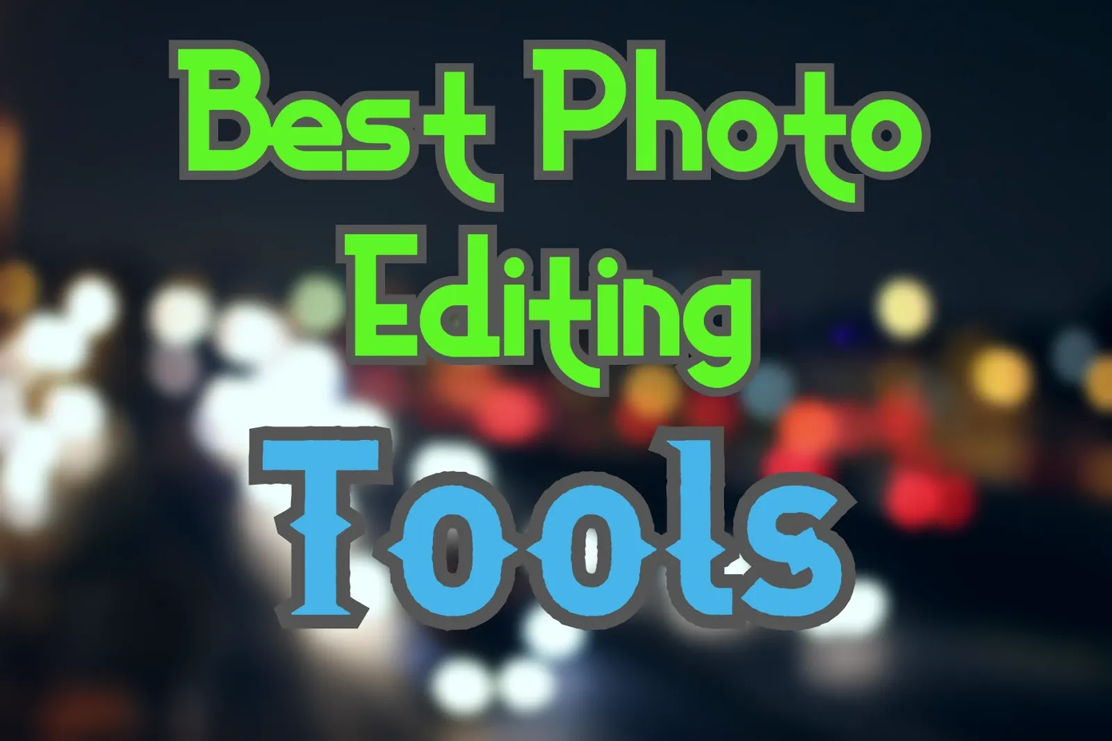 The Perfect free Photo-Editing Software Program for 2020