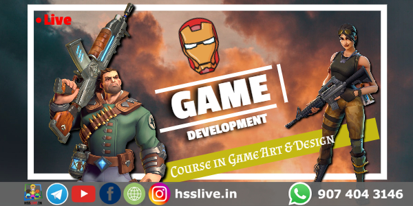 game design course after 12th