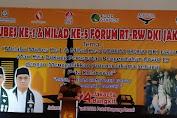 Gubernur DKI Jakarta Hadiri Mubes 1 dan Milad Ke-5 Forum RT-RW di Ancol