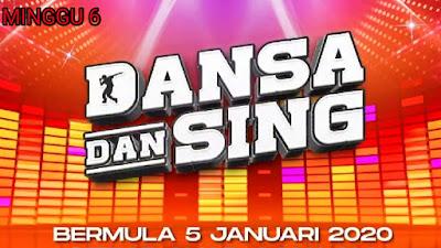 Live Streaming Dansa Dan Sing 2020 Minggu 6