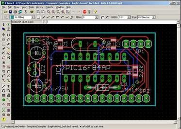 eagle for PCB design