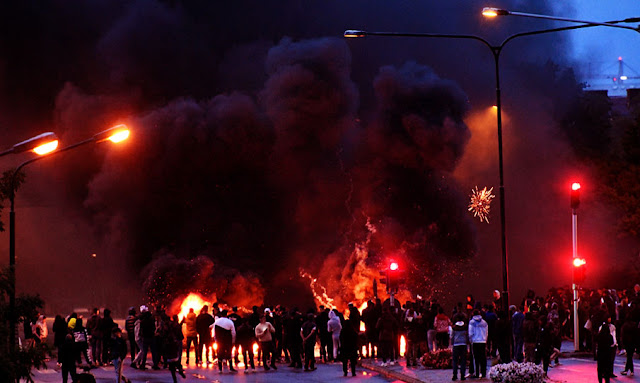 Violent protests in Swedish town of Malmo after anti-Islamic action