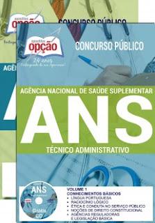 Apostila concurso ANS Técnico Administrativo