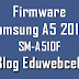 Firmware Samsung SM-A510F A5 2016