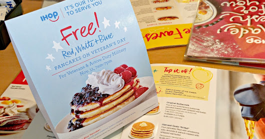 Free Pancakes for Veterans and Military on Veteran's Day