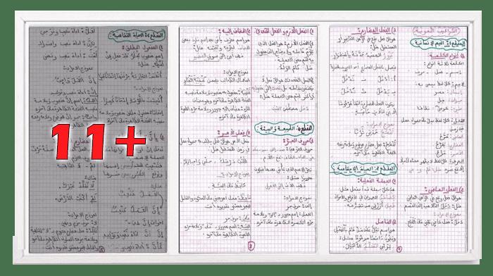 ملخص شامل لقواعد اللغة العربية للسنة الرابعة ابتدائي