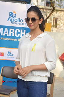 Actress Rakul Preet Singh at Endometriosis Awareness Walk at Apollo Cradle  0037.jpg