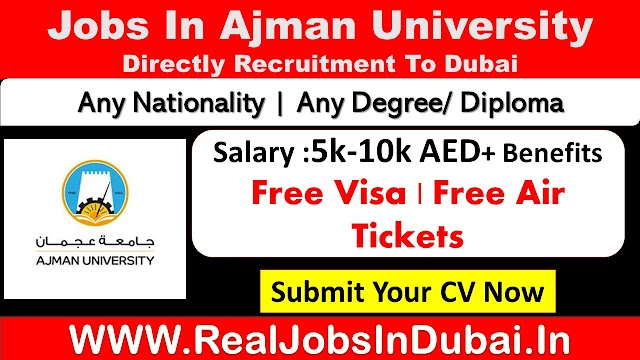 Ajman University Careers Jobs Vacancies  UAE 2021