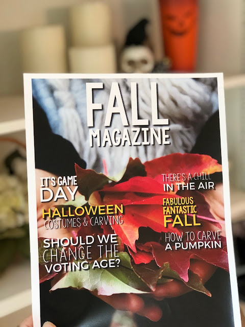 Fall and Halloween writing activities for secondary students