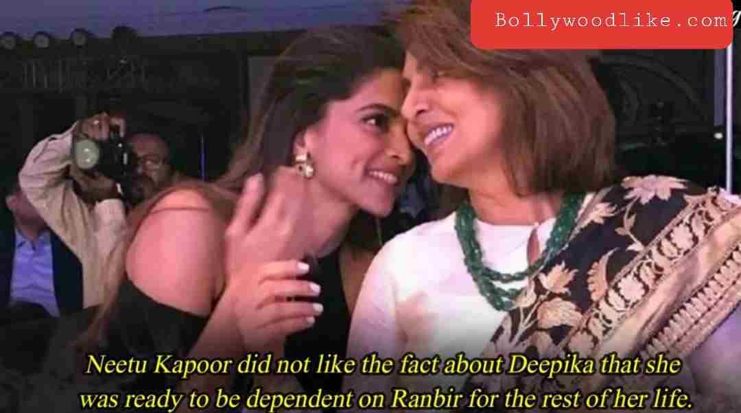 Deepika padukon with neetu kapoor