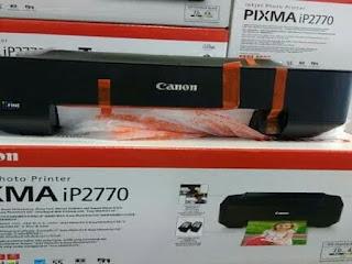 Printer iP2770 Lampu Berkedip