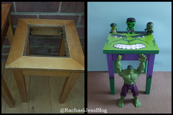 How I made a Hulk Coffee Table