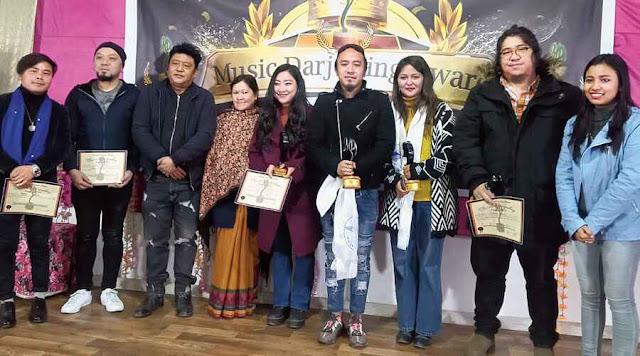 Mantra bags Music Darjeeling Award, laurels for late Vikram Subba