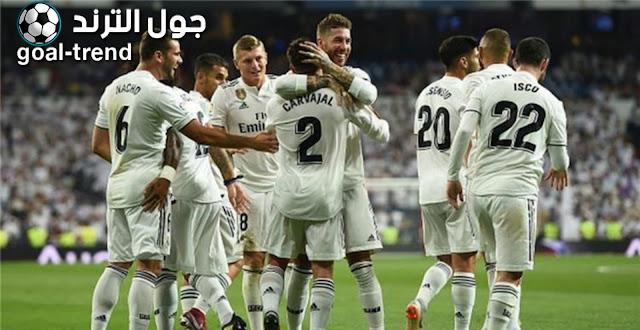 نتيجة مواجهة  ريال مدريد وبلد الوليد في الدوري الاسباني