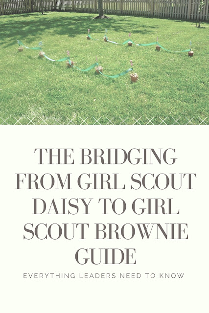 The Bridging from Girl Scout Daisies to Girl Scout Brownies Guide for busy leaders