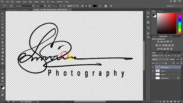 Own Handwritten Signature Logo For Photography