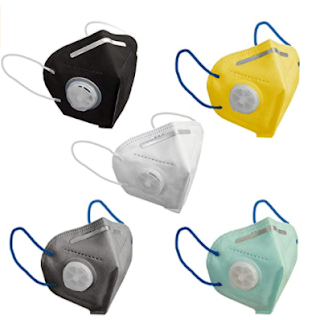 TrendzOn K-N95 Masks With Respirator Reusable
