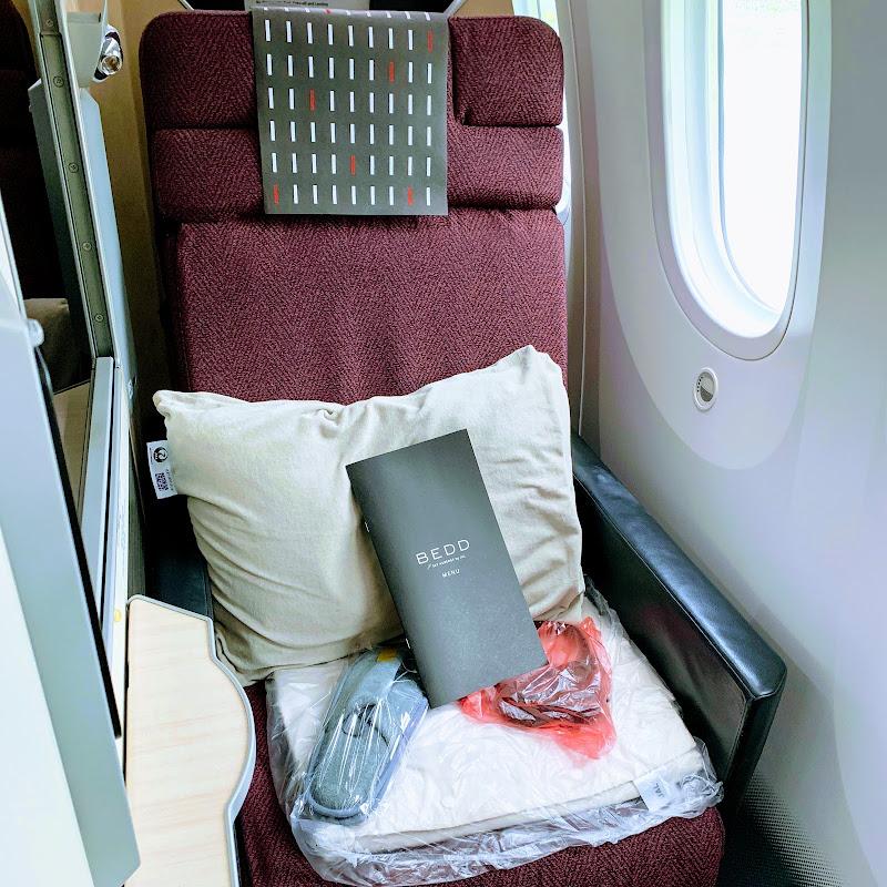 ビジネスクラス | 成田→メルボルン / JL0773【2019年の搭乗メモ】