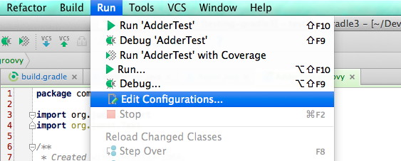 Java Moody: Running all jUnit tests in package with IntelliJ