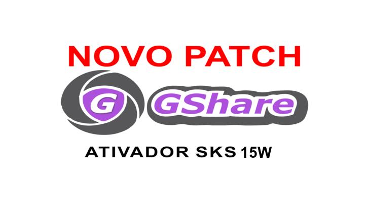 Atualização PATCH GSHARE SKS 15W