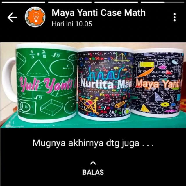 Mug Coating Matematika
