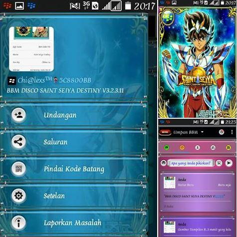 BBM Color Disco Apk