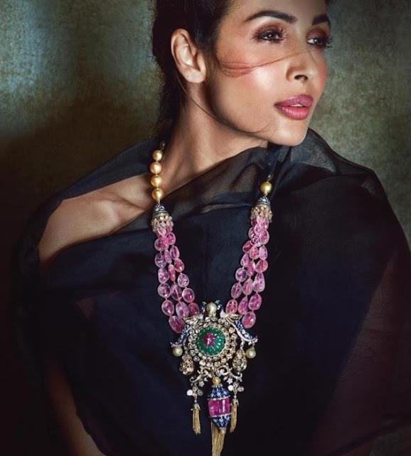 Malaika Arora in Khanna Jewellers Designs