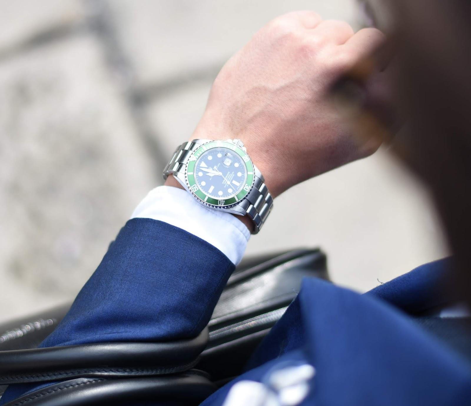 Wristwatch DP for Businessmen
