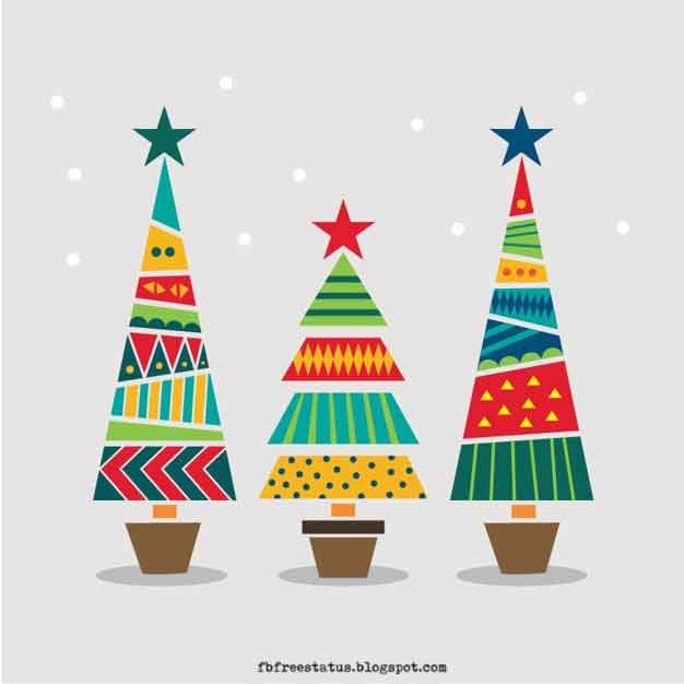 christmas tree cartoon images download