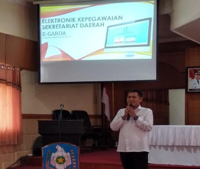 Ortala Setda Soppeng Launching e-Garda