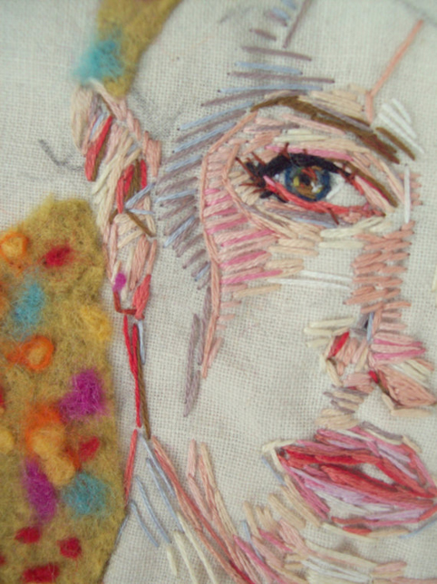 Embroidered Portrait We Are Scout
