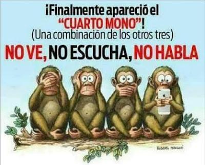 Meme tres monos, uso abusivo móvil, Tailandia, La vuelta al mundo de Asun y Ricardo, vuelta al mundo, round the world, mundoporlibre.com
