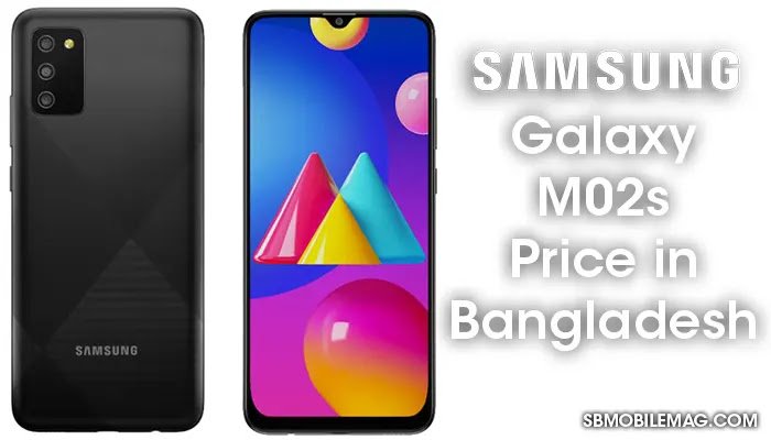 Samsung Galaxy M02s, Samsung Galaxy M02s Price, Samsung Galaxy M02s Price in Bangladesh