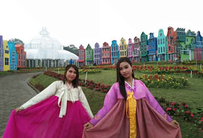 Florawisata San Terra Pujon Malang, Instagramable dan Ramah Anak