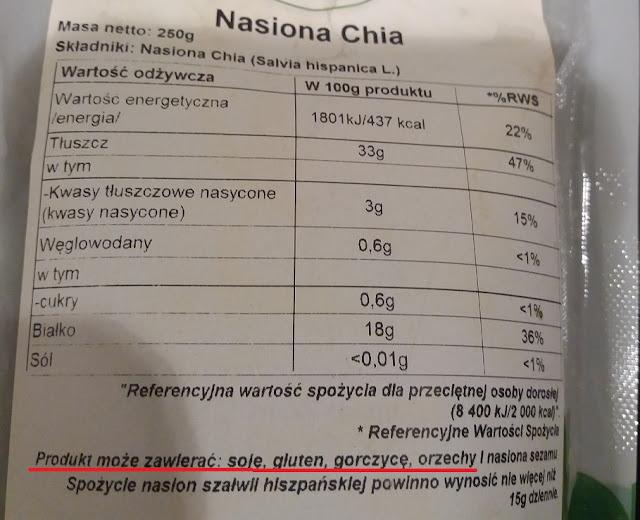 może zawierać śladowe ilości orzechów