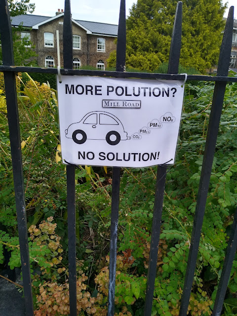 Mill Road, Cambridge, Covid-19, psychogeography, pollution