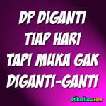 DP BBM Bergerak Lucu Keren Galau, Motivasi Terbaru 2017