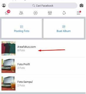 Cara Menghapus Foto di FB