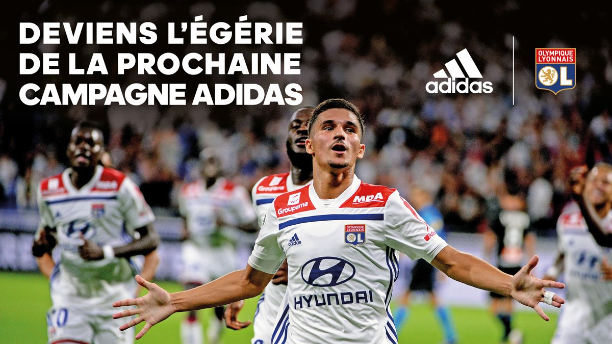 398d2cb9785 Adidas & Olympique Lyon Give Fans Chance To Become Face Of 19-20 Kits  Campaign + Home & Away Kits Release Date