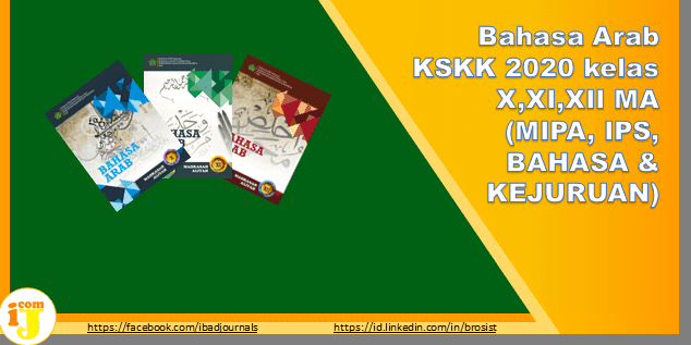 Bahasa Arab KSKK 2020 kelas X,XI,XII MA (MIPA, IPS, BAHASA & KEJURUAN)